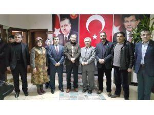 İl Müftüsü Akın'dan AK Parti'ye Ziyaret
