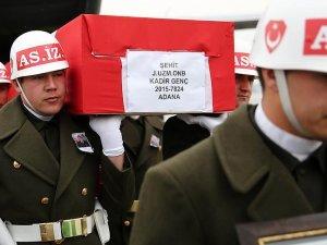 Şehit Uzman Onbaşı Genç son yolculuğuna uğurlandı