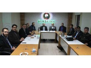AK Parti Osmangazi'den Bursa İHH'ya Ziyaret