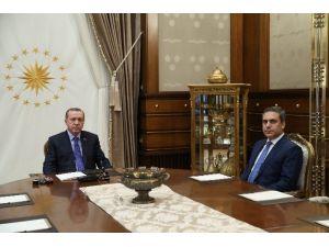 MİT Müsteşarı Fidan Beştepe'de