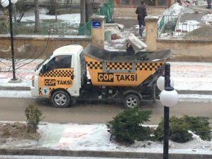 'Çöp taksi' ile çöpler daha çabuk toplanacak