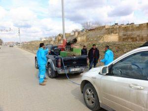 Harran'da Haşere İlaçlama Çalışmaları Devam Ediyor