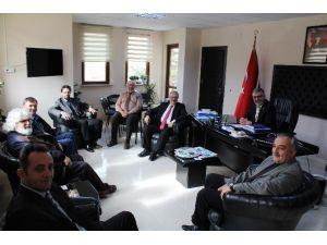 ESOGÜ'lü Öğretim Üyelerinden İnönü Belediyesi'ne Ziyaret
