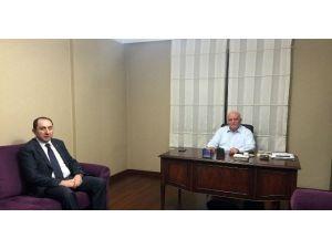 Rektör Alkan'dan Milletvekili Kıyıklık'a Ziyaret