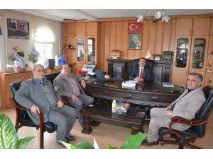 Oda Başkanları Yeni Müftüyü Ziyaret Etti