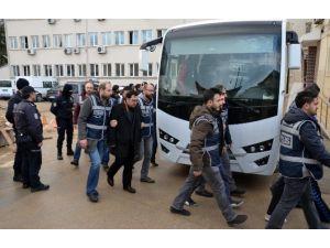 Paralel Yapı Operasyonunda Gözaltına Alınan 18 Kişi Adliyeye Sevk Edildi