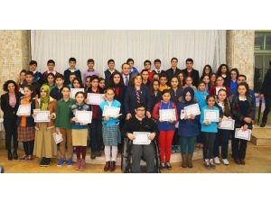 Örnek Öğrenciler Ödüllerini Aldı