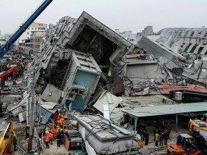 Tayvan'daki depremde ölü sayısı 94'e yükseldi
