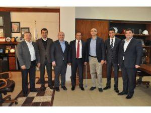 AK Partili Başkanlardan, Başkanı Toltar'a Ziyaret