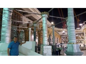 Kabe'deki Osmanlı Revaklarının Yüzde 70'i Yeniden Eski Yerlerine Monte Edildi