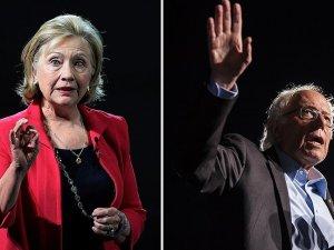 Clinton ve Sanders canlı yayında kozlarını paylaştı