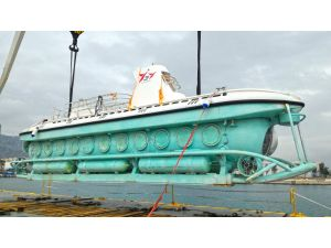 Türkiye'de ilk kez denizaltı ile turistik geziler başlıyor