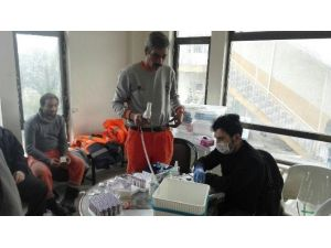 400 Personel Sağlık Taramasından Geçirildi