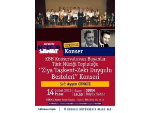 Türk Müziği Topluluğu'ndan Tsm Konseri
