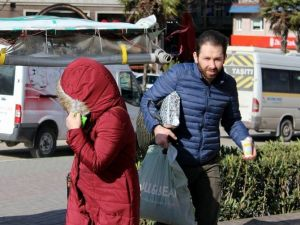 Lodos Bursa'da Vatandaşlara Zor Anlar Yaşattı