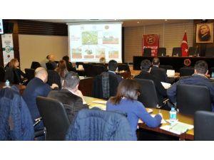 GSO Endüstriyel Simbiyoz Projesi Çalıştayı Yapıldı