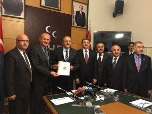 Genel Başkandan MHP Ziyareti