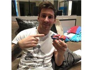 İşte Messi'nin yeni arabası!
