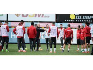 Galatasaray'da Mersin İdmanyurdu maçının hazırlıkları tamamlandı