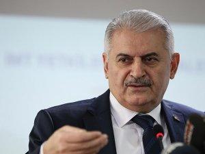 Bakan Binali Yıldırım: Bakü-Tiflis-Kars Demiryolu hattı 2017'de açılacak