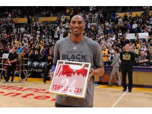 NBA efsanelerinden Kobe Bryant'a övgü