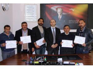 Erciş'te 23 Kursiyer Sürü Yönetimi Elemanı Sertifikalarını Aldı