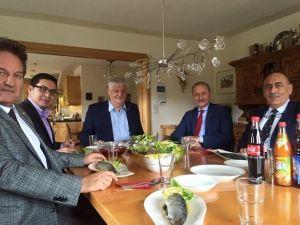 Başkan Atabay'dan Schmetterlingreisen'e Ziyaret