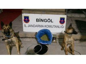Bingöl'de 6 Kilo Esrar Ele Geçirildi