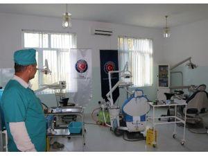 Tacikistan'da Şahrinav Merkez Hastanesi'ne Onarım Desteği