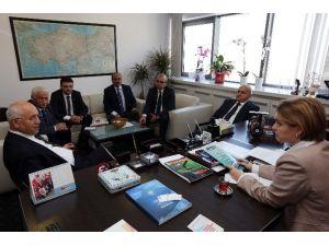Başkan Yaşar, Böke'yi Ziyaret Etti