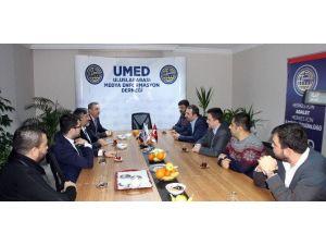 Başbakan Başdanışmanı Ahmet Doğan'dan Umed'e Ziyaret