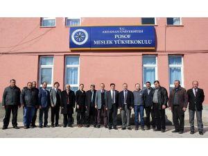 Posof MYO'da Hazırlıklar Hızla Devam Ediyor