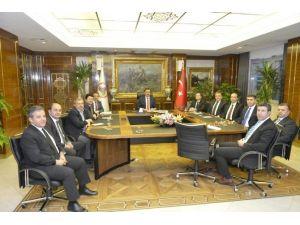 Prof. Dr. Ahmet Kızılay, Bakan Tüfenkci'yi Ziyaret Etti