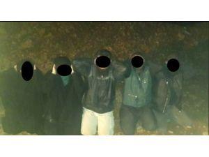 Gaziantep ve Kilis'te 9'u çocuk 25 IŞİD'li yakalandı