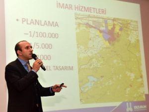 Keskin, Kış Kentleri Sempozyumu'nda Erzurum'u Anlattı