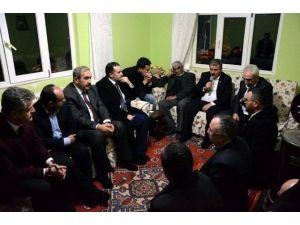 BBP Genel Başkanı Desteci Şehit Evini Ziyaret Etti