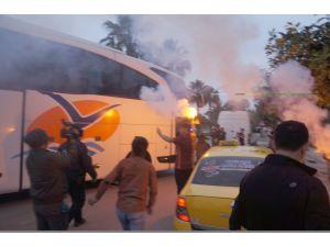 Galatasaray, Mersin İdmanyurdu maçı için Adana'da
