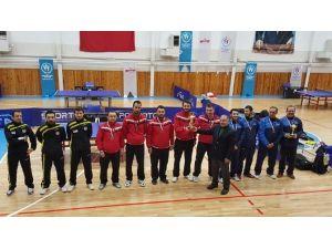 Masa Tenisi Türkiye Kupası Grup Şampiyonasında Divapan İkinci Oldu