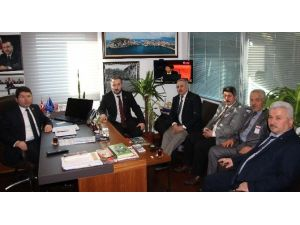 AK Parti İlçe Teşkilatından Milletvekili Tunç'a Ziyaret