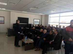 Erzincan'da Güvenli Trafik Projesi Toplantısı Yapıldı