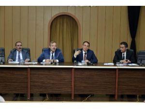 Büyükşehir Akdeniz İlçesinde Koordinasyon Toplantısı Gerçekleşti Yaptı
