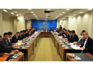 AK Parti Konya İl Koordinasyon Kurulu Toplandı