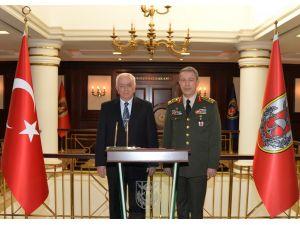 Koşaner, Genelkurmay Başkanı Akar'ı ziyaret etti