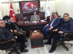 Diyarbakır Gençlik Hizmetleri Ve Spor İl Müdürü Mehmet Demir'e Ziyaret