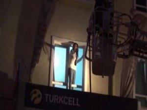 Konya'da bir otelde yangın çıktı