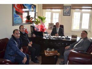 Diyanet-sen'den Rehabilitasyon Müdürü Akar'a Ziyaret
