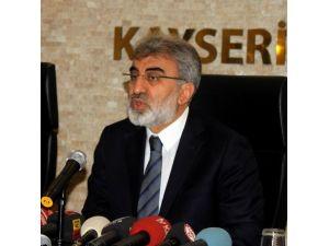 Enerji Ve Tabii Kaynaklar Eski Bakanı Ve AK Parti Kayseri Milletvekili Taner Yıldız: