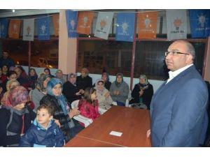Selendi AK Parti İlçe Danışma Meclisi Toplantısı Yapıldı
