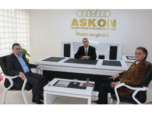 ASKON'un Konuğu Fka Genel Sekreteri Öztop Oldu