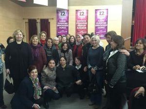 CHP'li Kadınlar Basmacı İle Buluştu